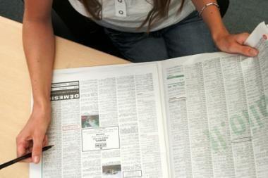 Baiminamasi, kad Ispanijoje greit bus 5 mln. bedarbių