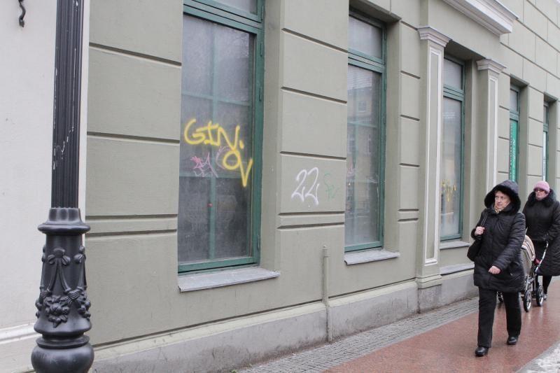 Garsusis Klaipėdos grafitininkas sulaukė vienuoliktojo nuosprendžio