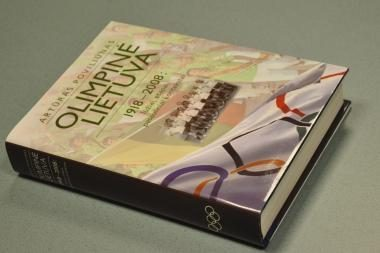 LTOK prezidento Artūro Poviliūno knyga - IOC muziejuje