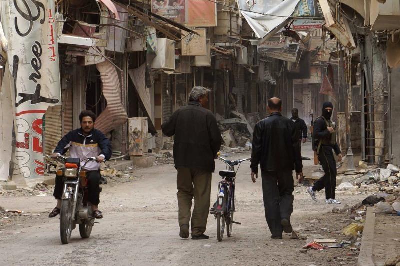 Britanijos analitikai: galios pusiausvyra Sirijoje - į sukilėlių pusę