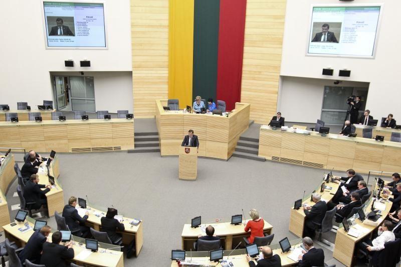 Vyriausybė pavasario sesijai planuoja teikti beveik 150 projektų