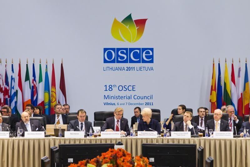 Lietuva baigia metus trukusį pirmininkavimą ESBO
