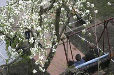 Orai Kaune: šilumos dar teks palaukti