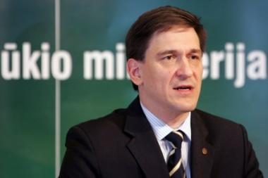 Ūkio ministras lankysis Klaipėdoje
