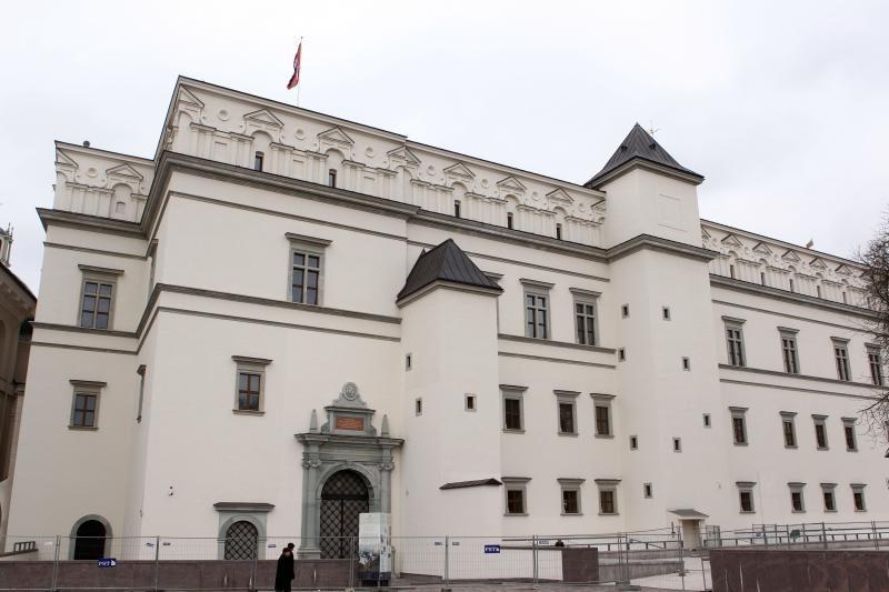 Ministras: dėl Valdovų rūmų valstybė gali prarasti apie 20 mln. litų