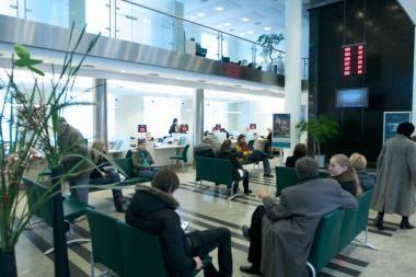 Bankų klientų aptarnavimo lygis Lietuvoje - vidutinis
