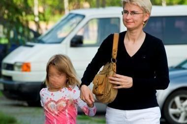 Po susitikimų su motina D.Kedžio dukra tampa nekalbi