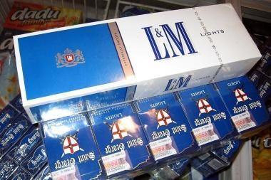 Per savaitgalį Vilniaus ir Kauno muitininkai sulaikė cigarečių už daugiau kaip 100 tūkst. litų