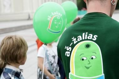 Žalieji siekia įkurti savo partiją, bet dalyvavimui savivaldos rinkimuose trūksta rėmėjų