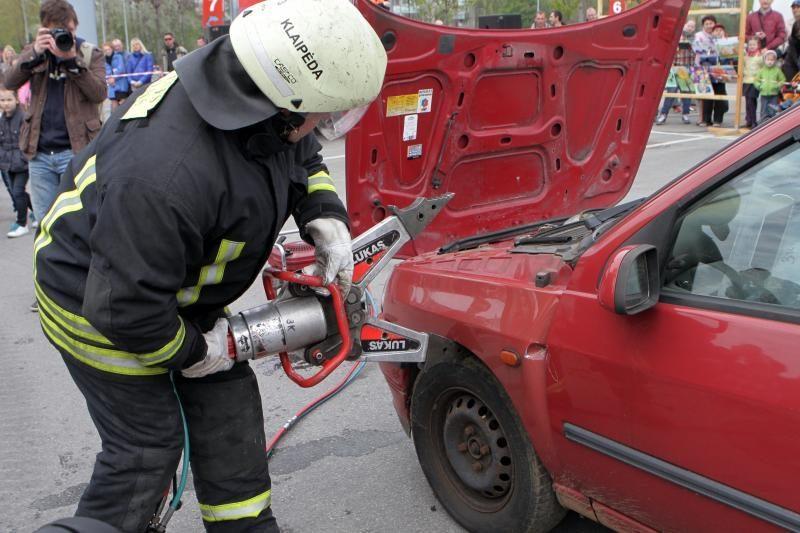 Klaipėdos ugniagesiai kviečia kartu paminėti profesinę šventę