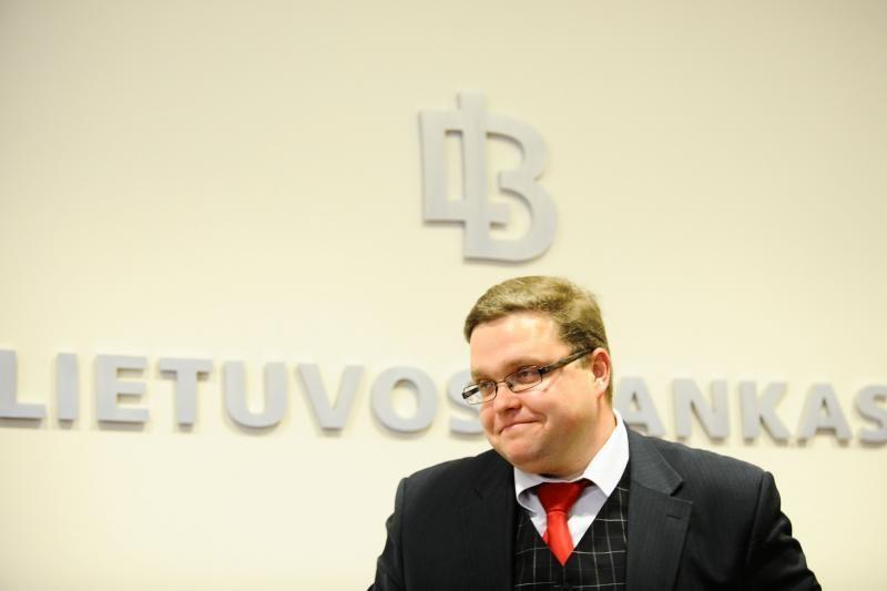 Po pertvarkos Lietuvos banke ketvirtadaliu sumažėjo darbuotojų