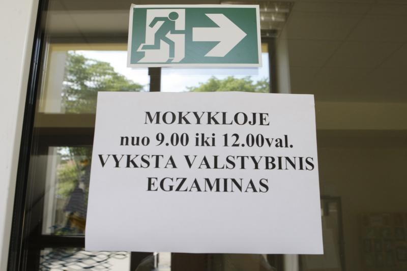 Fizikos egzaminas Klaipėdoje –  be incidentų
