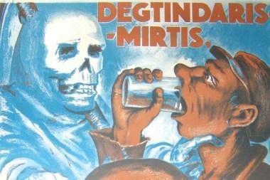 Klaipėdoje - senieji lietuviški reklaminiai plakatai