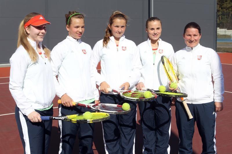 Lietuvos moterų teniso rinktinė iškovojo dar vieną pergalę