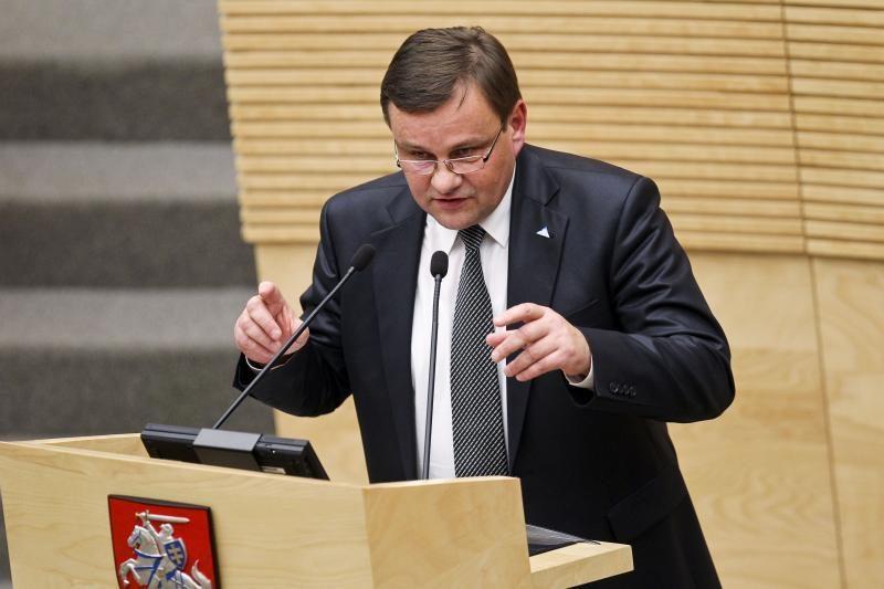 Seimo pirmininkas mano, kad Lietuvai reikalinga atominė elektrinė