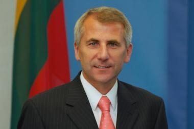 Minske V.Ušackas domėjosi AE statybomis