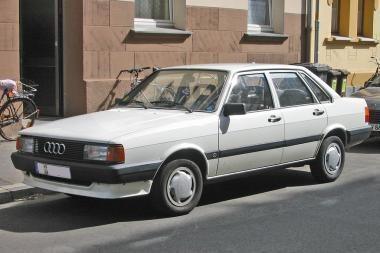 """Klaipėdiečių pavogtos """"Audi"""" rastos Šilutėje, mašinų ardymo aikštelėje"""