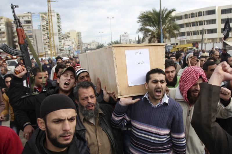 Sirija pirmąkart bombardavo palestiniečių pabėgėlių stovyklą