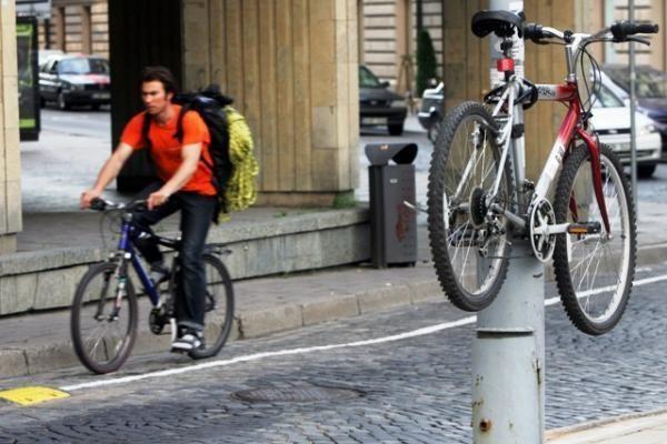 Didmiesčiuose – daugiausia dviračių vagysčių