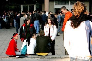 Studentai perduos savo lūkesčius naujajam Seimui