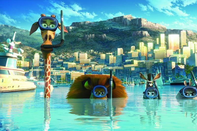 """""""Madagaskaras 3"""" režisieriai žada fenomenalų reginį"""