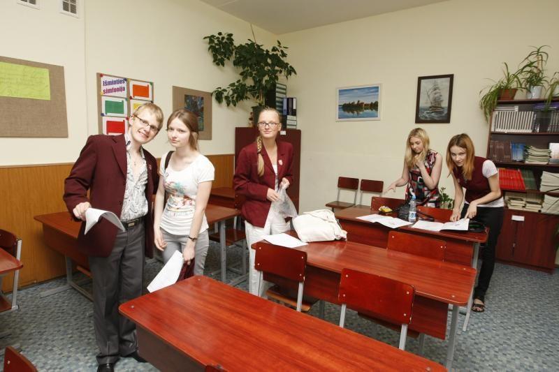 Penktadienį bus paskelbti pirmųjų brandos egzaminų rezultatai