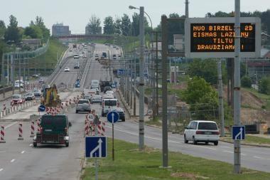 Lazdynų tilto rekonstrukcijai skirta ES parama