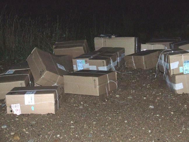 Pasienyje sulaikytas ketvirčio milijono litų vertės cigarečių krovinys