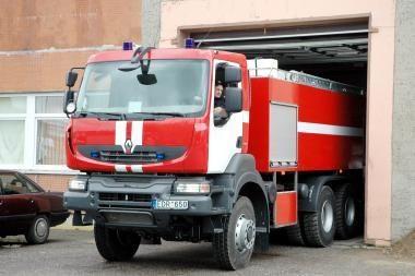 Vilniaus centre užgesintas gaisras (atnaujinta)