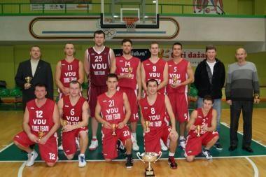 """Perkūno"" taurė – VDU - ""Top Sport"" krepšininkams"