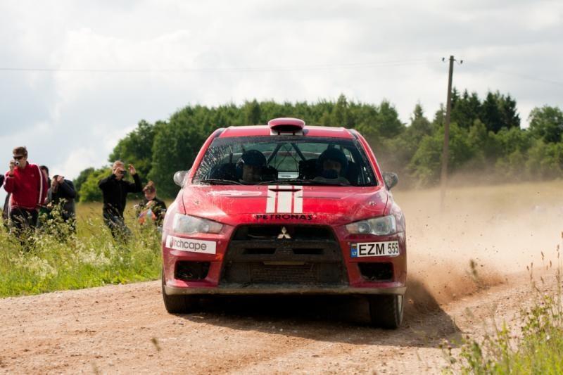Startavo paskutinis Lietuvos automobilių ralio čempionato etapas