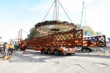 Pasukamasis tiltelis bus parvežtas šią savaitę