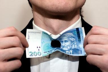 Iš kur dabar žmonės prasimano pinigų?