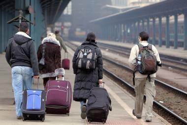 Studentų migracija į užsienio universitetus