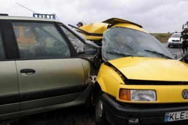 Telšių rajone avarijoje žuvo trys žmonės