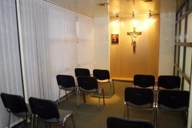 Vilniaus oro uoste atidarytas Maldos kambarys