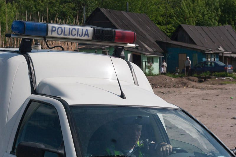 Skuode suimtas įtariamasis narkotikų platinimu
