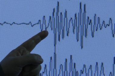 Netoli Saliamono Salų įvyko stiprus žemės drebėjimas