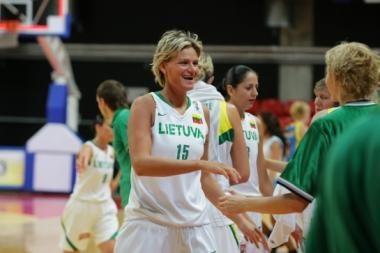 Lietuvos moterų krepšinio rinktinė įveikė Ukrainą