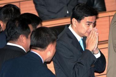 Išrinktas naujas Tailando premjeras