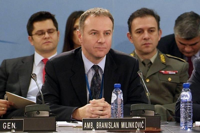 Iš gyvenimo pasitraukė Serbijos pasiuntinys NATO