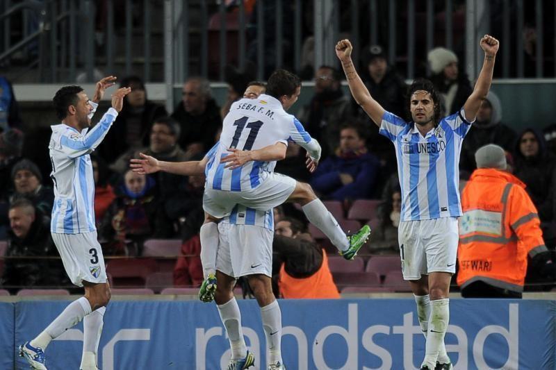 """Karaliaus taurė: """"Malaga"""" išplėšė dramatiškas lygiąsias su """"Barcelona"""""""