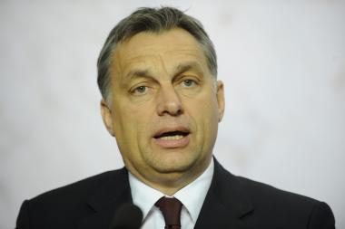 Aptarti ES darbotvarkės ir atsiimti apdovanojimo į Lietuvą atvyks Vengrijos premjeras