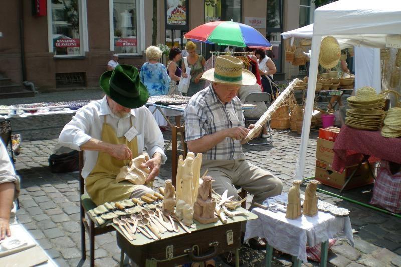 Klaipėdos senamiestyje - jomarkai ir mugės