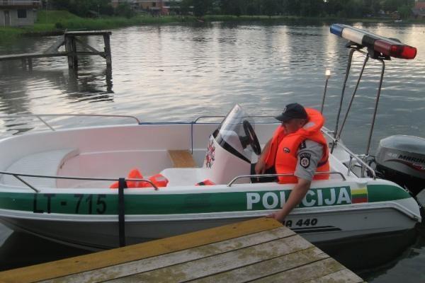 Vasarą – padidintas pareigūnų dėmesys saugiai laivybai