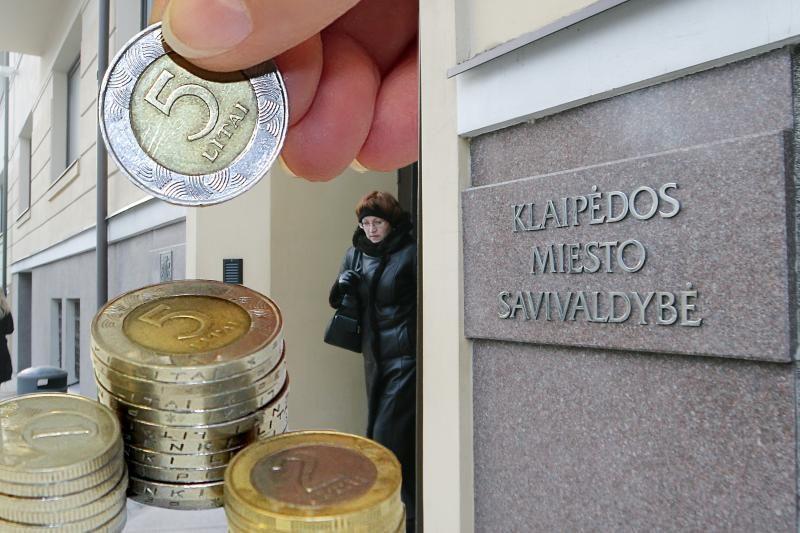 Klaipėdos miesto biudžete – 500 tūkst. litų perviršis