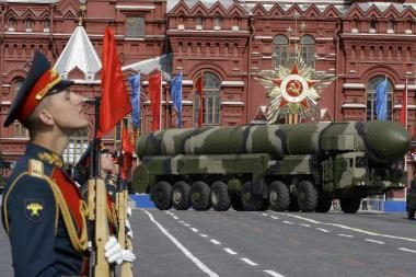Rusija išbandė tolimojo nuotolio raketą