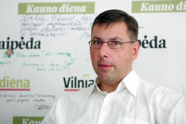 G.Steponavičiaus laukia sunkus pokalbis su Prezidente