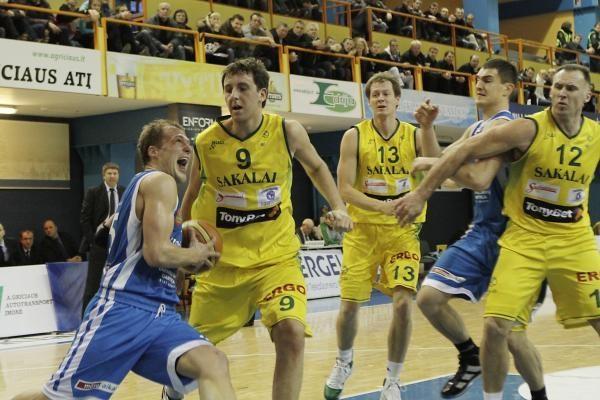 """Vilniaus """"Sakalų"""" krepšininkai turėjo pripažinti NKL ekipos pranašumą"""