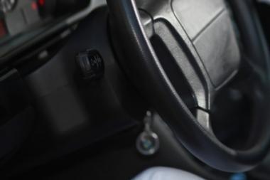 Sulaikytas automobilio grobikas